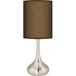 Khaki Giclee Droplet Table Lamp (27R45) found on Bargain Bro India from Lamps Plus for $89.99