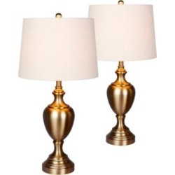 Callum Plated Antique Gold Urn Table Lamp Set of 2 (47R71) found on Bargain Bro India from Lamps Plus for $123.99