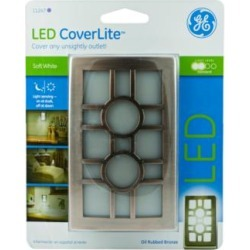 GE Coverlite Bronze Sun LED Night Light (9F201) found on Bargain Bro Philippines from Lamps Plus for $14.99