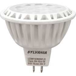 50W Equivalent Sylvania Frosted 9W LED Dimmable GU5.3 MR16 (22W23) found on Bargain Bro India from Lamps Plus for $9.99