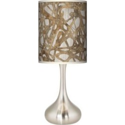 Organic Nest Giclee Droplet Table Lamp (27R78) found on Bargain Bro India from Lamps Plus for $89.99
