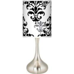 Damask Shadow Giclee Droplet Table Lamp (27P69) found on Bargain Bro India from Lamps Plus for $89.99