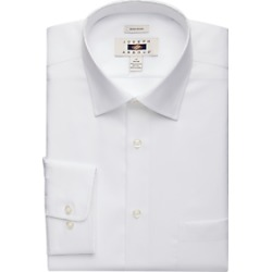 Joseph Abboud White Twill Dress Shirt found on MODAPINS from menswearhouse.com for USD $44.99