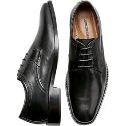 Johnston & Murphy Porter Black Plain Toe Derbys found on Bargain Bro Philippines from menswearhouse.com for $49.99