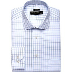 Pronto Uomo Blue Check Dress Shirt found on MODAPINS from menswearhouse.com for USD $39.99