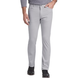 Joseph Abboud Light Gray Slim Fit Casual Pants found on MODAPINS from menswearhouse.com for USD $39.99