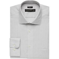 Pronto Uomo Gray Square Dress Shirt found on MODAPINS from menswearhouse.com for USD $39.99