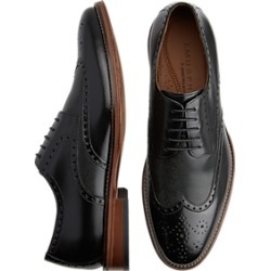 J. Murphy by Johnston & Murphy Hughes Black Wingtip Oxfords found on Bargain Bro Philippines from menswearhouse.com for $104.99