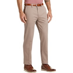 Haggar Iron Free Premium Tan Straight Fit Khaki Casual Pants found on MODAPINS from menswearhouse.com for USD $39.99