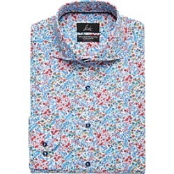 Suitor Pink Floral Slim Fit Dress Shirt found on MODAPINS from menswearhouse.com for USD $34.99