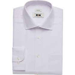 Joseph Abboud Lavender Circle Dot Dress Shirt found on MODAPINS from menswearhouse.com for USD $44.99