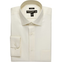 Pronto Uomo Ecru Modern Fit Dress Shirt found on MODAPINS from menswearhouse.com for USD $39.99