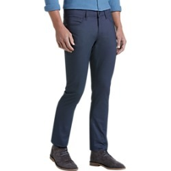 JOE Joseph Abboud Navy Dobby Slim Fit Casual Pants found on MODAPINS from menswearhouse.com for USD $39.99