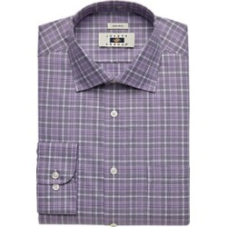 Joseph Abboud Lavender Plaid Dress Shirt found on MODAPINS from menswearhouse.com for USD $44.99
