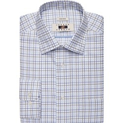 Joseph Abboud Olive Grid Dress Shirt found on MODAPINS from menswearhouse.com for USD $44.99
