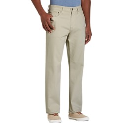 Joseph Abboud Stone Classic Fit Casual Pants found on MODAPINS from menswearhouse.com for USD $39.99