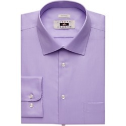 Joseph Abboud Lavender Twill Dress Shirt found on MODAPINS from menswearhouse.com for USD $44.99
