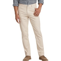 Joseph Abboud Cream Slim Fit Casual Pants found on MODAPINS from menswearhouse.com for USD $39.99