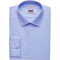 Joseph Abboud Blue Twill Dress Shirt found on MODAPINS from menswearhouse.com for USD $44.99