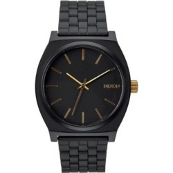 Analog Time Teller Black IP Bracelet Watch found on MODAPINS from The Bay for USD $120.00