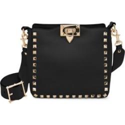 Valentino Garavani Mini Rockstud Leather Hobo Bag found on Bargain Bro from Saks Fifth Avenue UK for £1428