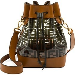 Fendi Women's Mon Tresor Leather-Trimmed Plastic Bucket Bag - Black found on Bargain Bro Philippines from Saks Fifth Avenue for $2100.00