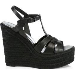 T-Strap Platform Espadrille Sandals