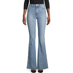Mid-Rise Skinny Flare Jeans