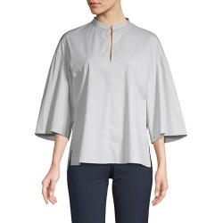 Striped Cotton-Blend Top found on Bargain Bro Philippines from Saks Fifth Avenue OFF 5TH for $138.99