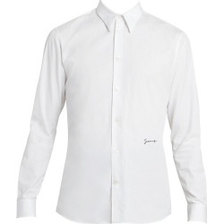 Givenchy Men's Classic Signature Slim-Fit Shirt - White - Size 40 (15.75) found on MODAPINS from Saks Fifth Avenue for USD $520.00