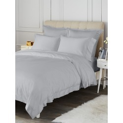 Saks Fifth Avenue Hemstitch Cotton Sham - Grey - Size Full found on Bargain Bro from Saks Fifth Avenue for USD $49.40