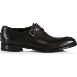 Ermenegildo Zegna Men's Siena Flex Single Monk Strap Shoes - Black - Size 8 found on MODAPINS from Saks Fifth Avenue for USD $695.00