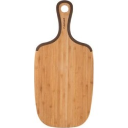 Non-Slip Bamboo Cutting Board with Handle