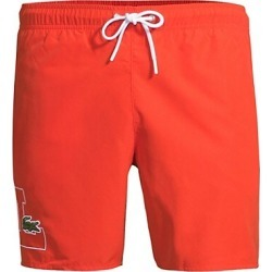 Regular-Fit Logo Swim Trunks found on MODAPINS from Saks Fifth Avenue UK for USD $79.94