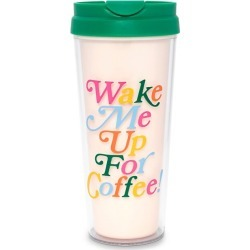 Wake Me Up For Coffee Hot Stuff Thermal Mug found on Bargain Bro UK from Saks Fifth Avenue UK