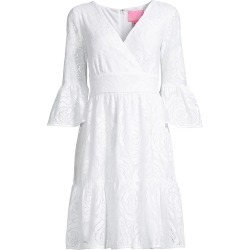 Lilly Pulitzer Women's Cecelia Lace Dress - Resort White - Size 10 found on Bargain Bro India from Saks Fifth Avenue for $198.00