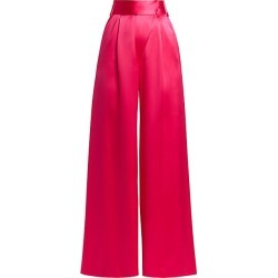 Adriana Iglesias Women's Fiora Silk Wide-Leg Pants - Fraise - Size 42 (10) found on MODAPINS from Saks Fifth Avenue for USD $710.00