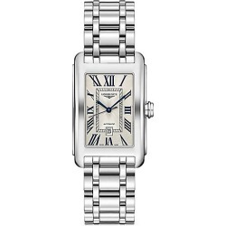 Longines Men's Longines DolceVita Stainless Steel Link Bracelet Watch - Silver found on MODAPINS from Saks Fifth Avenue for USD $1575.00