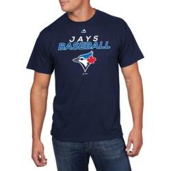 T-shirt pour homme de la MLB des Blue Jays de Toronto Bring The Battle
