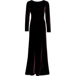 Alberta Ferretti Women's Long-Sleeve Silk Velvet Gown - Violet - Size 6 found on MODAPINS from Saks Fifth Avenue for USD $987.75