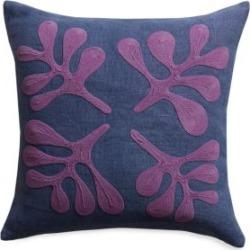 Amoeba Laurels Linen Pillow
