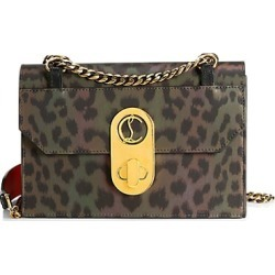 Christian Louboutin Women's Small Elisa Leopard-Print Shoulder Bag found on Bargain Bro Philippines from Saks Fifth Avenue for $2150.00