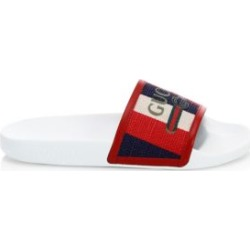 Pursuit Gucci Canvas Pool Slides found on Bargain Bro UK from Saks Fifth Avenue UK for $175.42