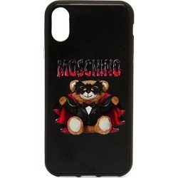 Moschino Women's iPhone XS Max Vampire Bear Phone Case - Black Multi found on Bargain Bro India from Saks Fifth Avenue for $80.00