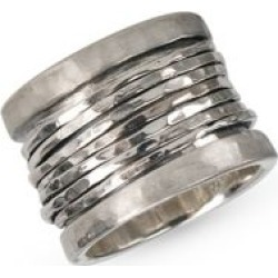 Serenity 925 Sterling Silver Multi-Row Band Ring