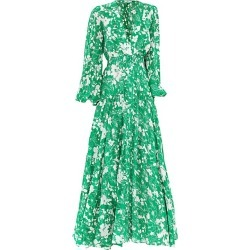 Alexis Women's Kazmera Floral Maxi Dress - Emerald Floral - Size Medium found on MODAPINS from Saks Fifth Avenue for USD $693.00