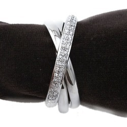 L'Objet Triple Napkin Rings/Set of 4 - Platinum