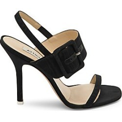 Attico Women's Mariah High-Heel Slingback Sandals - Black - Size 40.5 (10.5) found on MODAPINS from Saks Fifth Avenue for USD $815.00