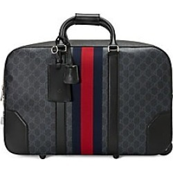Gucci Men's Soft GG Supreme Carry-On Duffle with Wheels - Black found on MODAPINS from Saks Fifth Avenue for USD $2590.00