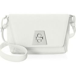 Akris Women's Little Anouk Day Leather Crossbody Bag - White found on Bargain Bro Philippines from Saks Fifth Avenue for $995.00